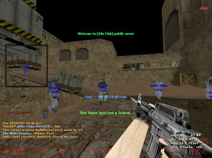 Скачать Speedhack Aim Wallhack для CS 1.6